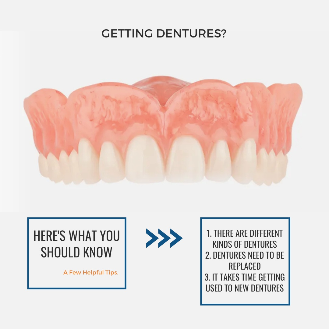 Tips for new denture care patients