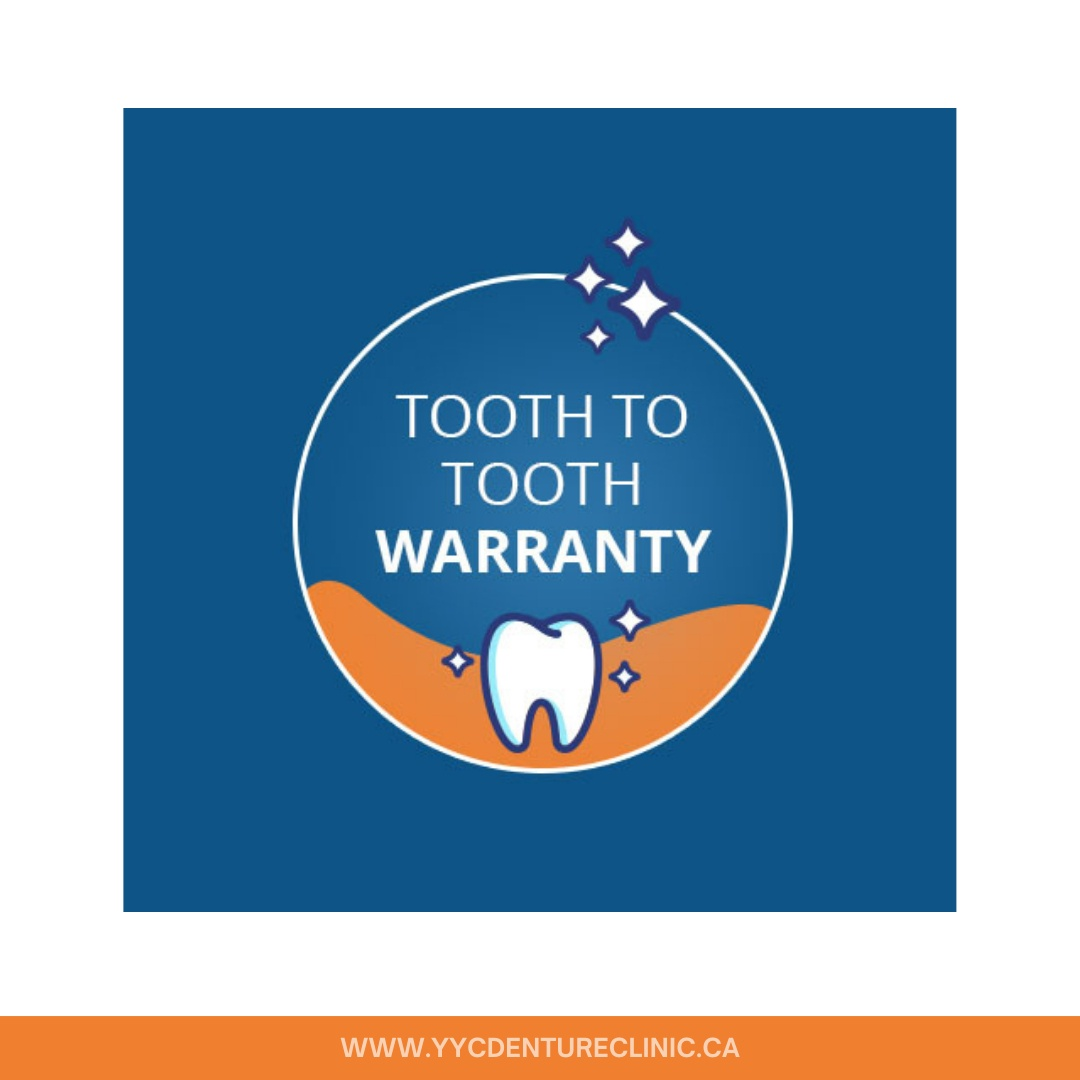 tooth to tooth warranty