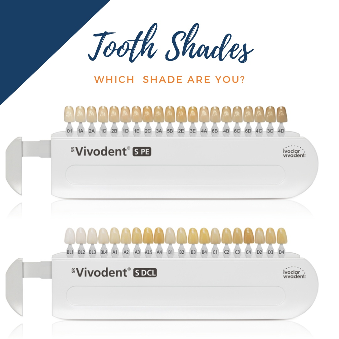 yyc denture clinic tooth shade selection